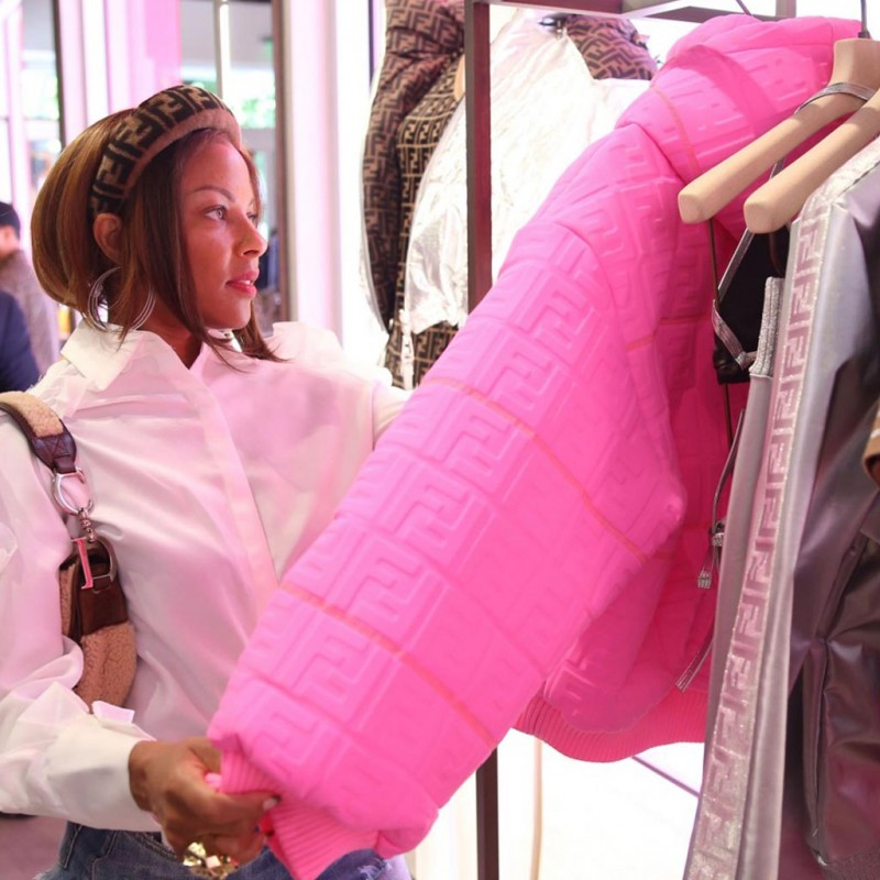 Off The Field Players' Wives Association Celebrates FENDI Prints On At MDD Boutique