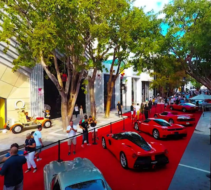 Miami Concours 2019 - Car Show in Miami Design District