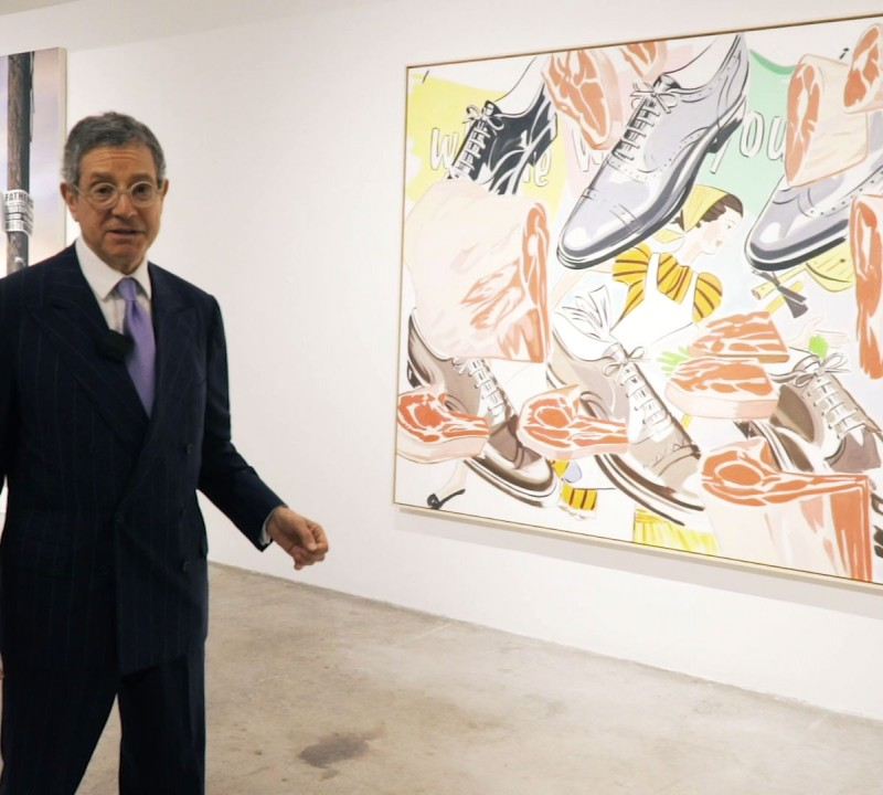 Jeffrey Deitch Talks About Art Exhibited In The Miami Design District During Art Week 2019