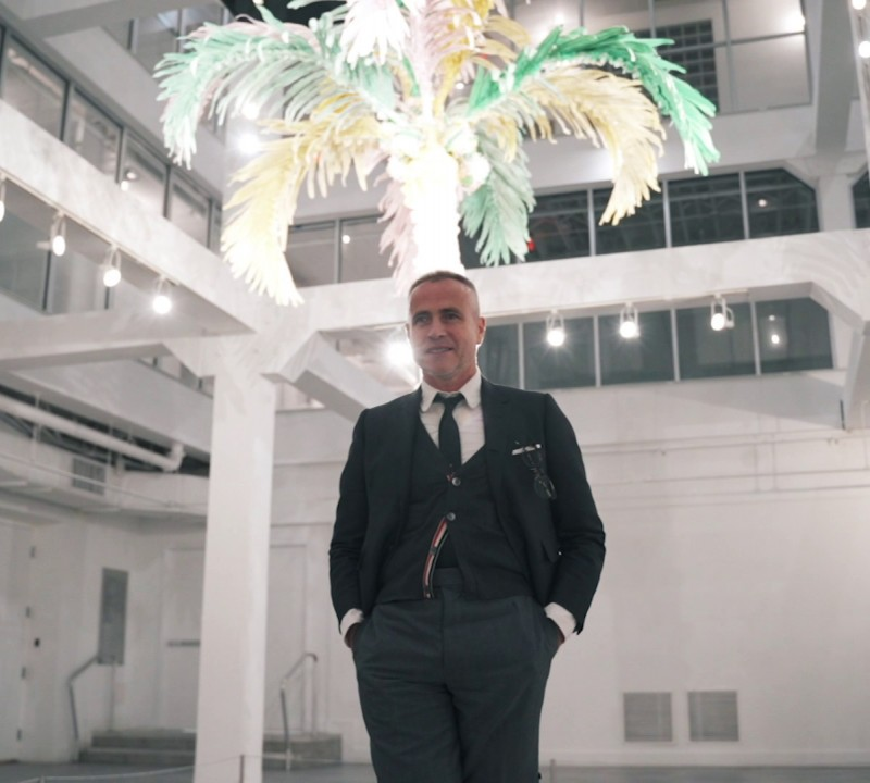 Artist Thom Browne Unveils His Public Art in The Miami Design District
