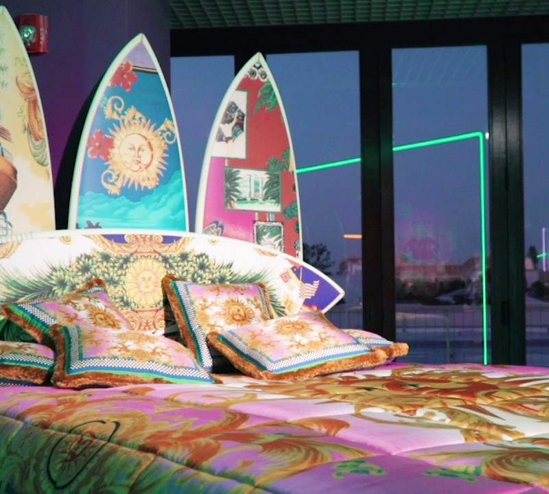Versace's South Beach Stories in Collaboration With Sasha Bikoff